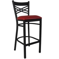 Hercules Ladder Back Restaurant Vinyl Seat Bar Stool - Black. This stool has a padded seat upholstered in vinyl. Flash Furniture 31 in. Hercules Ladder Back Restaurant Vinyl Seat Bar Stool -. High quality at high speeds! Black Bar Stools, 30 Bar Stools, Metal Bar Stools, Bar Chairs, Counter Stools, Black Stool, Kitchen Stools, Extra Tall Bar Stools, Study Chairs