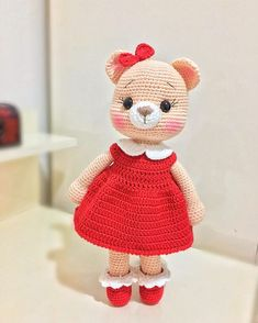Best 12 Noli Cumalar I have the recipe for those who want to buy from my link im … – Craft Day Crochet Teddy, Crochet Girls, Crochet Bunny, Diy Crochet, Crochet Flowers, Crochet Toys, Crochet Animal Patterns, Crochet Animals, Amigurumi Doll
