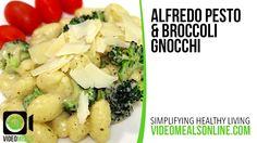 Alfredo Pesto & Broccoli Gnocchi