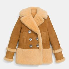 <strong>A shearling coat,</strong> like at Burberry Pre-Fall 2016.<br> Buy now: Coach jacket, $1,995, coach.com-Wmag
