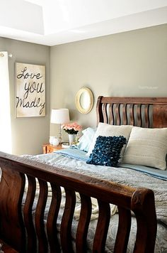 Spring Bedroom - Love the Home You have --learn more at TidyMom.net