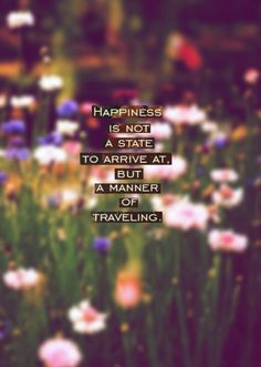 Travel into happiness every day! #quotes
