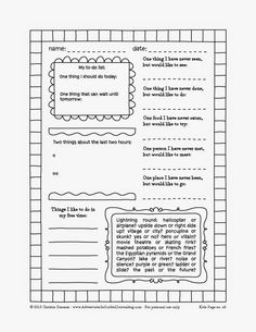 Adventures in Guided Journaling: Printable journal pages for kids. FREE printables!