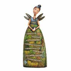 Kelly Rae Roberts Believe Angel Figurine