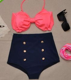 BOWKNOT IS A SWIMSUIT
