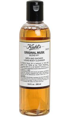 Bath & Shower Liquid Body Cleanser  Original Musk - Kiehl's
