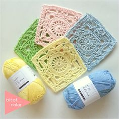 100 Days Crochet Challenge, A Square A Day, Gratis Haakpatroon 56