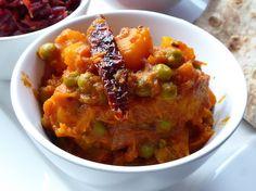 Pumpkin Peas curry