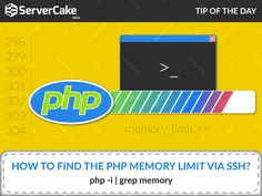 How to find the PHP memory limit via SSH? Ans: php -i | grep memory #php #FindMemoryLimit #SSH