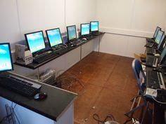 Inside a ZubaBox during PC installation