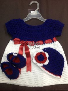 crochet dress for 6 months old girl
