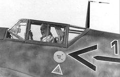 Bf 109F Stab JG26 (1 + Adolf Galland France 1942