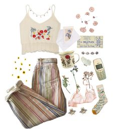 """Not a clue"" by suhkissedfreckles ❤ liked on Polyvore featuring art"
