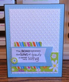 Scrappy Sweet Creations: The Road Between Friends