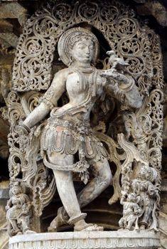 Darpana Sundari (lady with mirror)