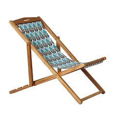 Sling Chair – Turquoise Montauk