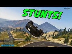 GTA 5 STUNTS MONTAGE! || AmazingFilms247