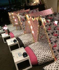 sleepover tent Lets Flamingle - Premium Theme - Sl - sleepover Boy Sleepover, Birthday Sleepover Ideas, Sleepover Party Games, 13th Birthday Parties, 11th Birthday, Slumber Parties, Slumber Party Ideas, 13th Birthday Party Ideas For Girls, Ideas Party