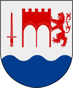 Coat of arms of the municipality of Kungälv, Sweden
