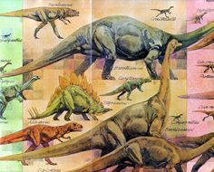 Love in the Time of Chasmosaurs: Vintage Dinosaur Art: A New Look at Dinosaurs, National Geographic, August 1978