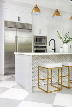 A Must-See Kitchen Renovation Filled With Color And Light | Domino