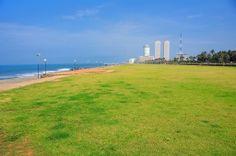 Galle Face Green, Colombo, Sri Lanka #SriLanka #Colombo Cultural Capital, Island Nations, Sandy Beaches, Continents, Sri Lanka, West Coast, Ocean, Landscape, City