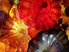 Chihuly. Saw the exhibit in Montreal. It was beautiful.