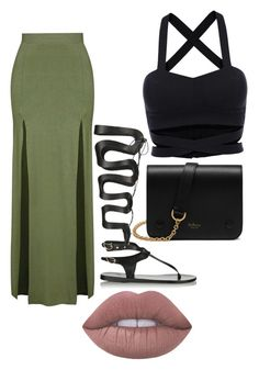 """""""K.O. SummerVibes"""" by kadrao on Polyvore featuring Topshop, Mulberry, Ancient Greek Sandals and Lime Crime"""