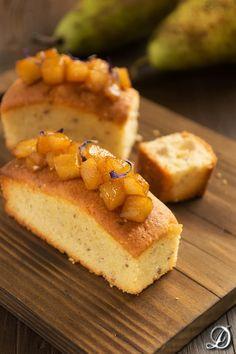 Mini Cakes de Pera y Cardamomo