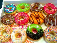 colorful donuts :)