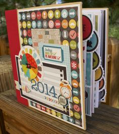 Artsy Albums Scrapbooking Kits and Custom Designed Scrapbook Albums by Traci Penrod: A 2014 Simple Stories Daily Grind Album
