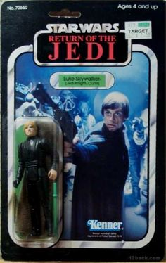 STAR WARS RETURN OF THE JEDI LUKE SKYWALKER ACTION FIGURE