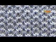 Quick And Easy Crochet Blanket Patterns For Beginners - Lina Knitting Stiches, Knitting Videos, Knitting For Beginners, Baby Knitting, Crochet Motifs, Crochet Dishcloths, Crochet Stitches, Crochet Pillow, Knitting Designs