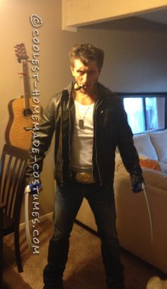 Easy Wolverine Costume... Coolest Halloween Costume Contest