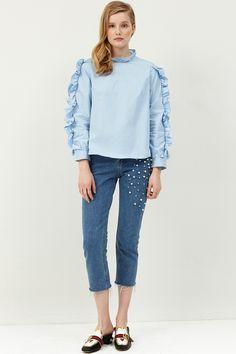 Selina Pearl Denim Jeans