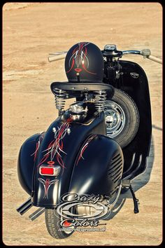 pinstriped vespa - Google Search