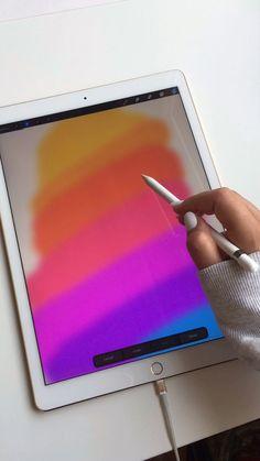 Digital Art Tutorial, Digital Painting Tutorials, Art Tutorials, Digital Art Beginner, Diy Accessoires, Virtual Art, Drawing Tablet, Ipad Art, Electronic Art