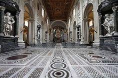 Interior of ST.John Lateran Church