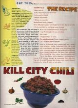 """Recipes from Sassy Magazines """"Eat this"""" column"""
