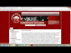 Portafolio Docente en Google Sites - YouTube