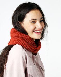 MY BABE SNOOD / PATTERN BOOK Snood Pattern, Garter Stitch, Pattern Books, Knit Crochet, Wool, Knitting, Babe, Stylish, Crocheting