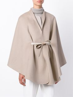 Loro Piana Belted Cape Coat - Spinnaker 141 - Farfetch.com
