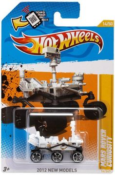 Hot Wheels To Release a Mars Rover Curiosity Toy