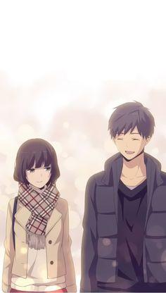 Relife Kaizaki And Hishiro Trop Mimi Awesome Anime Anime Love Anohana