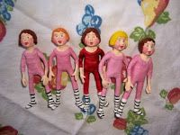 Air Dry Clay Tutorials: Paperclay Dolls, Tutorial by Polka Dot Pixie