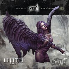 LILITH BUST  OFFICIAL LUIS ROYO & ROMULO ROYO MINIATURE