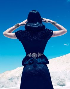 Dior jacket, Tom Binns jewelry, Lynn Ban belt - Best of Fall Fashion 2012