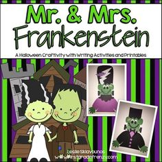 Frankenstein Halloween Craftivity