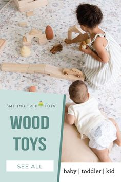 Personalized wooden toys for baby, toddler, and kids that are both educational and fun for play-based learning. Keepsake Christmas gifts made in the USA to give this holiday season! Wooden Baby Toys, Wood Toys, Play Based Learning, Childrens Gifts, Christmas Gifts, Holiday, First Birthdays, Gifts For Kids, Preschool