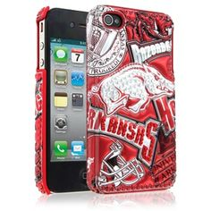 Arkansas iPhone 4 Case - Razorbacks #iPhoneCase